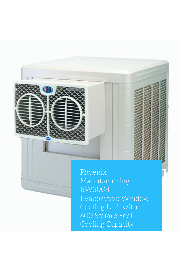 Phoenix Manufacturing BW3004 Evaporative Window Cooling