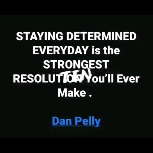 #determined #resolution