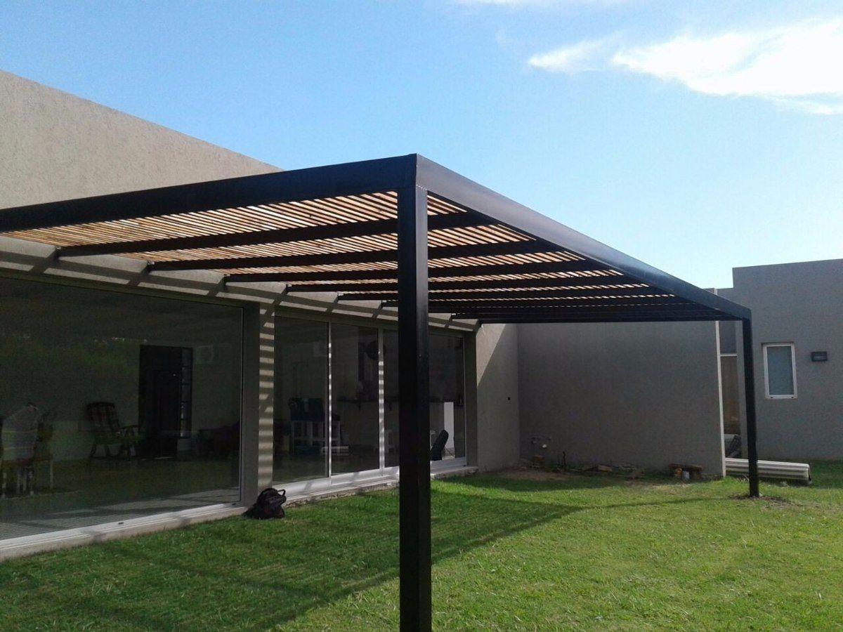 Pergolas de hierro y de madera barriles de lluvia en 2019 pergola foyer lighting y foyer - Pergola de hierro ...