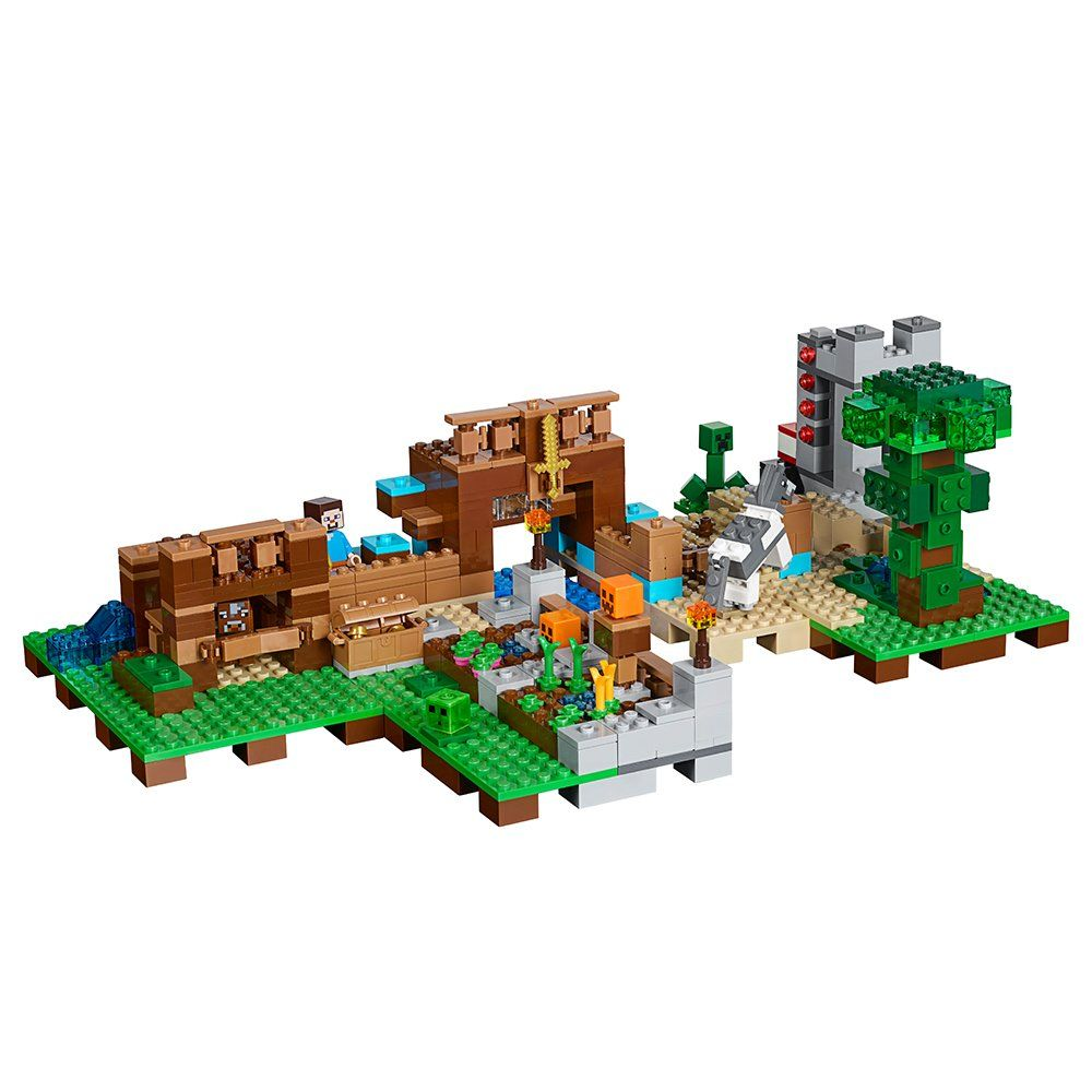 Lego Minecraft The Crafting Box 2 0 21135 Building Kit 717 Piece To View Further For This Item Visit The Image Link T Craft Box Lego Minecraft Lego Boxes