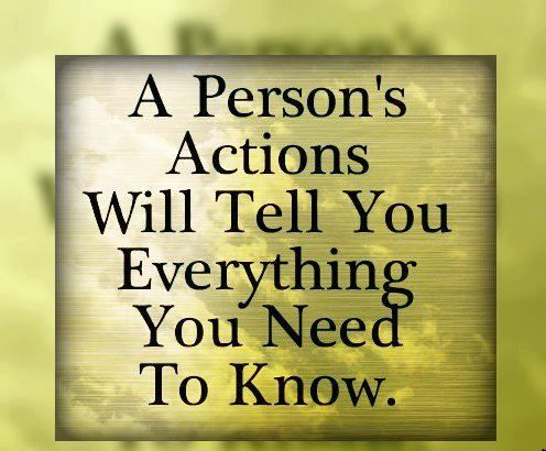 Peoples Actions Quotes To Live By Action Quotes Life Quotes