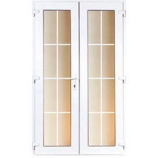 Model 4 Georgian French Door Set 1190mm X 2090mm 4ft From Homebase Co Uk French Doors Door Sets French Doors Interior
