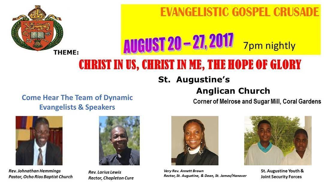 Crusade 2017 #St  Augustine's church #Coralgardens #Stjames