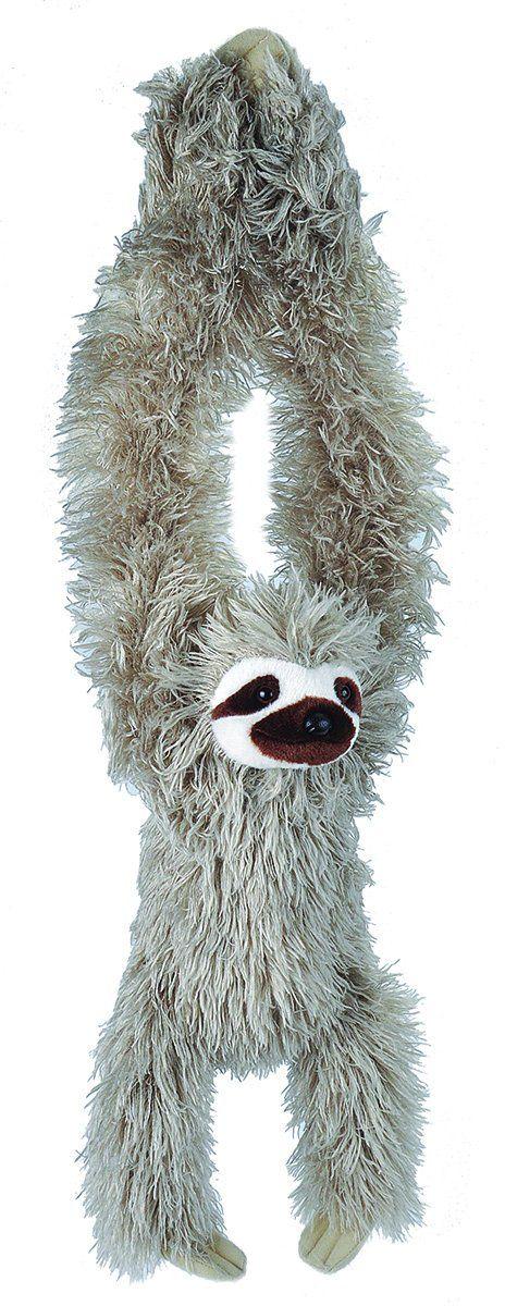 "Hanging Sloth Stuffed Animal 20"" (With images) Sloth"