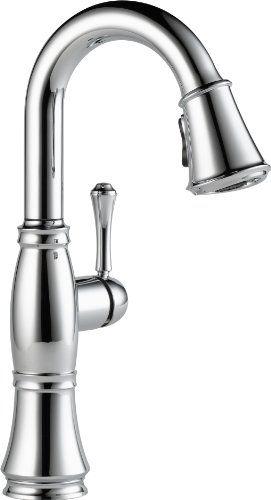 Delta Faucet 9997-DST Cassidy, Single Handle Bar/Prep Faucet, Chrome