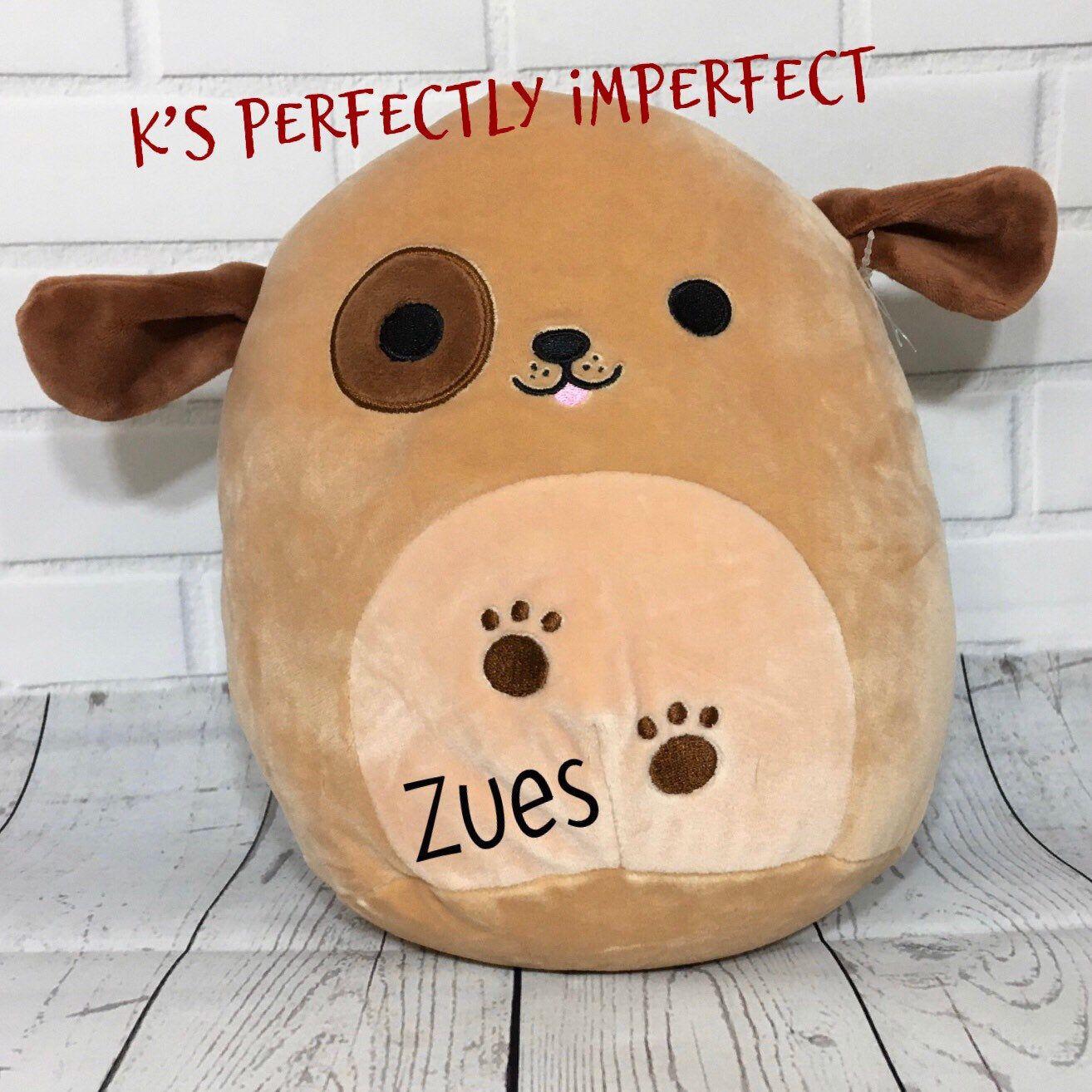 Puppy Plush Personalized Stuffed Animal Squishmallow Etsy Personalized Stuffed Animals Custom Stuffed Animal Cute Stuffed Animals