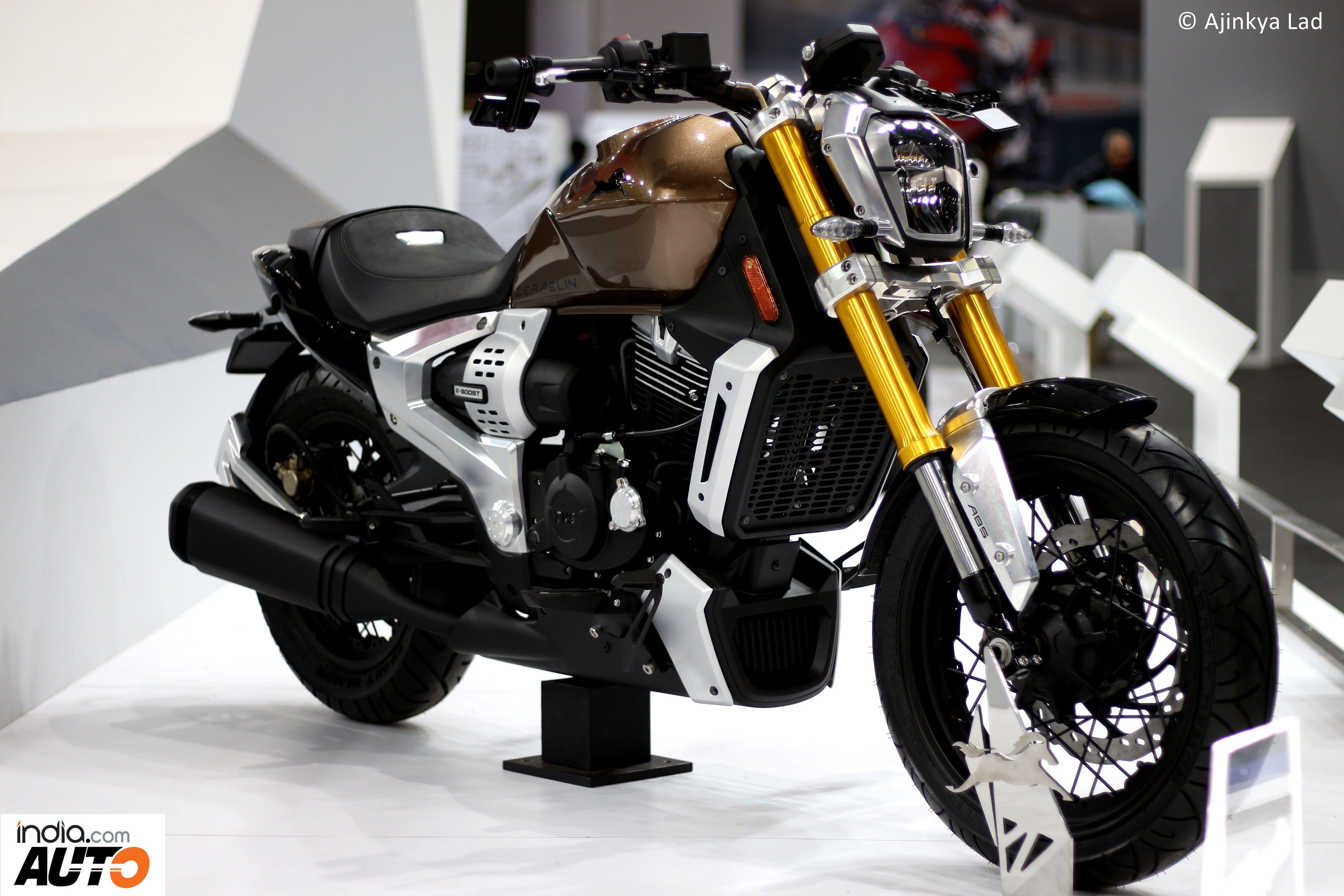 Tvs Motor Company Zeppelin 220 Cruiser 2018 Autosport Bike