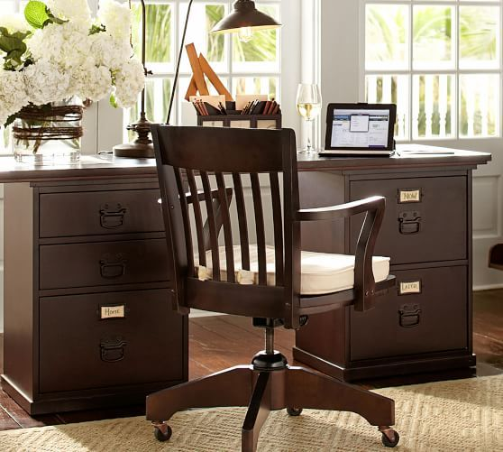 Bedford Rectangular Desk Set Pottery Barn