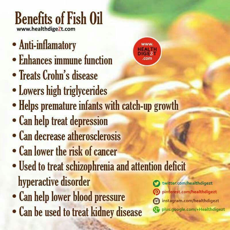 Pin by Tiffany Deen on Health & Beauty | Fish oil benefits ...