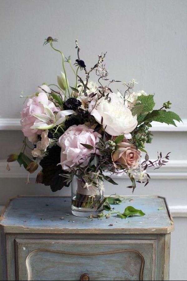 68 id es de composition florale composition bouquet et les fleurs. Black Bedroom Furniture Sets. Home Design Ideas