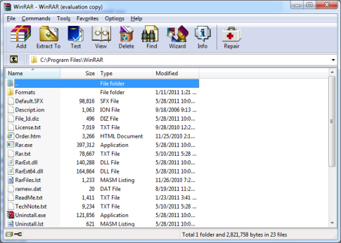 winrar setup free download for windows 7