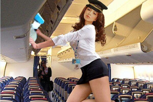 Секси стюардесса видео