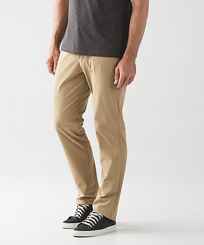 6f4121c8d Lululemon ABC pants in khaki   black for BMVH s travels