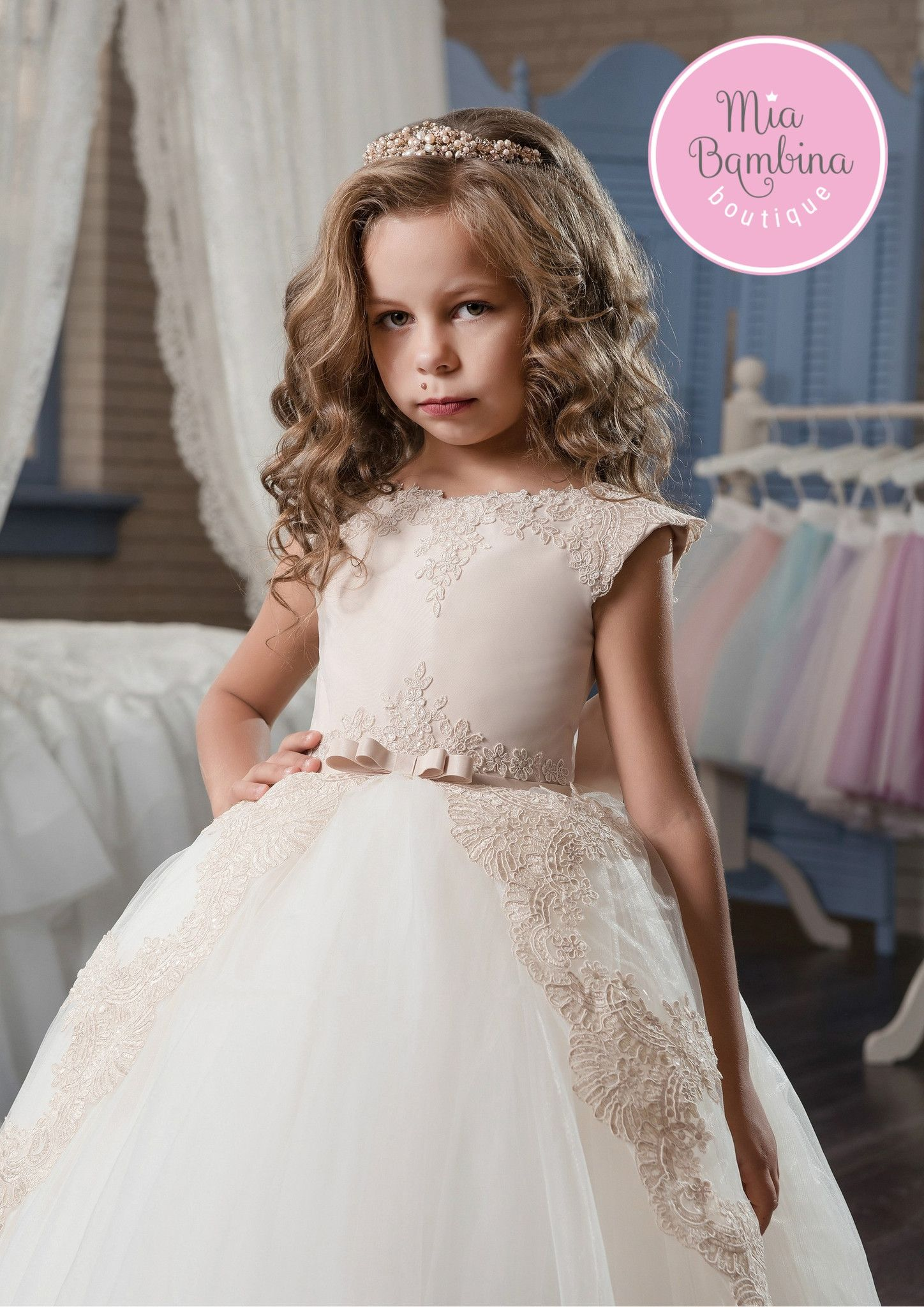 Wedding dresses sacramento  Sacramento  Bateau neckline Flower girl dresses and Girls dresses