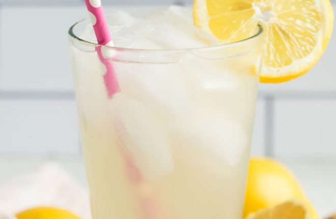 Fresh-Squeezed Lemonade by the Glass