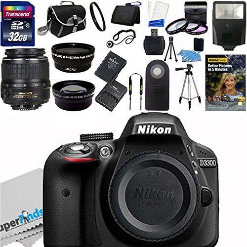 BESTSELLER! Nikon D3300 24.2 MP CMOS Digital SLR... $575.00