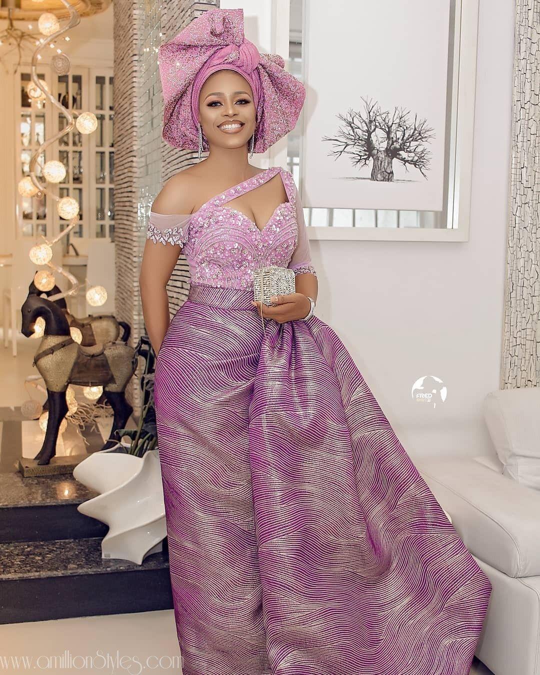 12 Latest Lace Asoebi Dresses – A Million Styles