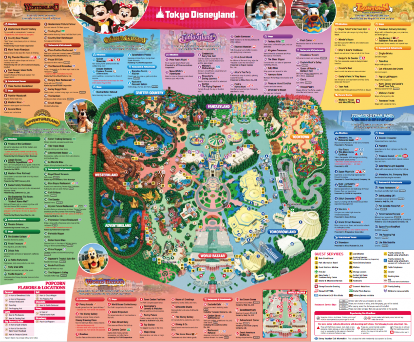 This is a picture of Inventive Printable Disney World Maps 2020