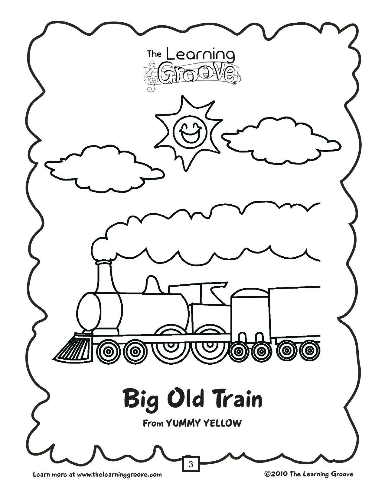 Polar Express Worksheet For Preschool