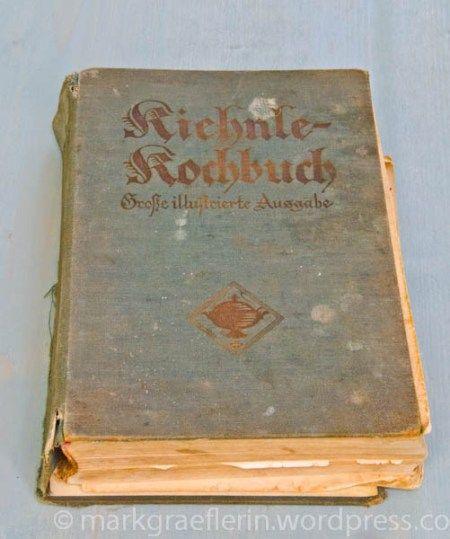 Flohmarkt in m llheim eine italienische erfrischung und ein kochbuch von 1933 koch und back for Italienisches kochbuch