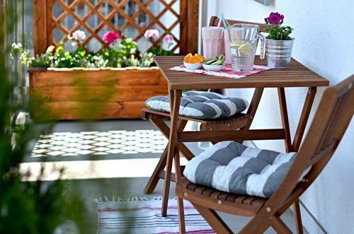 muebles-para-balcon   Home   Pinterest   Balcones, El balcon y ...
