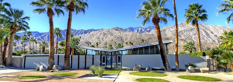 Palm springs luxury mid century modern homes for sale for New mid century modern homes palm springs