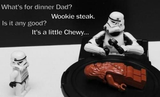 bahahaha! It's a little Chewy...