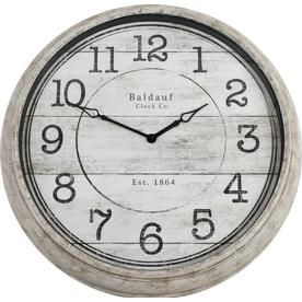 83cd0bb2e5 Analog Round Indoor Wall Clock 1708-6078Low | Old fashtioned clocks ...
