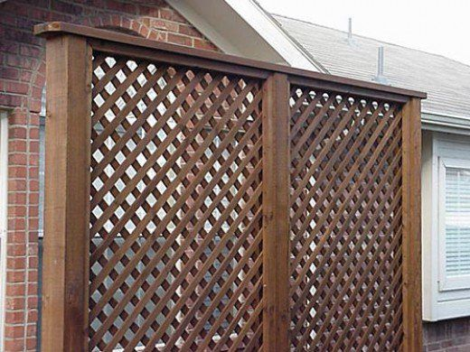 How To Install A Lattice Privacy Screen Method 2 Using Stops Lattice Privacy Screen Diy Lattice Privacy Screen Privacy Screen Outdoor