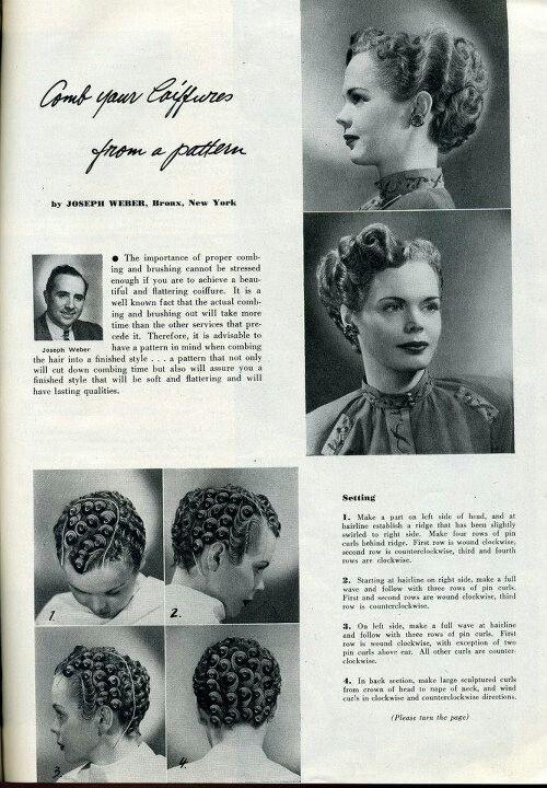 pin curl diagram plc wiring symbols q5 sprachentogo de for a formal updo vintage 1940s hair hairstyles rh 15 12 3 masonuk