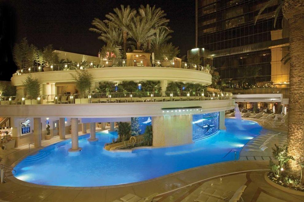 Golden Nugget Las Vegas Best Pools In Vegas Vegas Pools Hotel