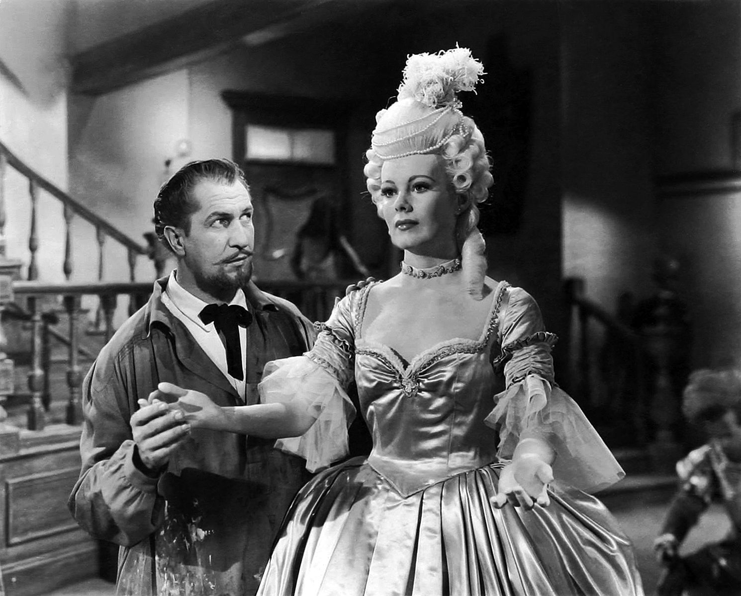 "Vincent Price in ""House of Wax"" Warner Brothers 1953. See more at: https://www.facebook.com/monstertheater"