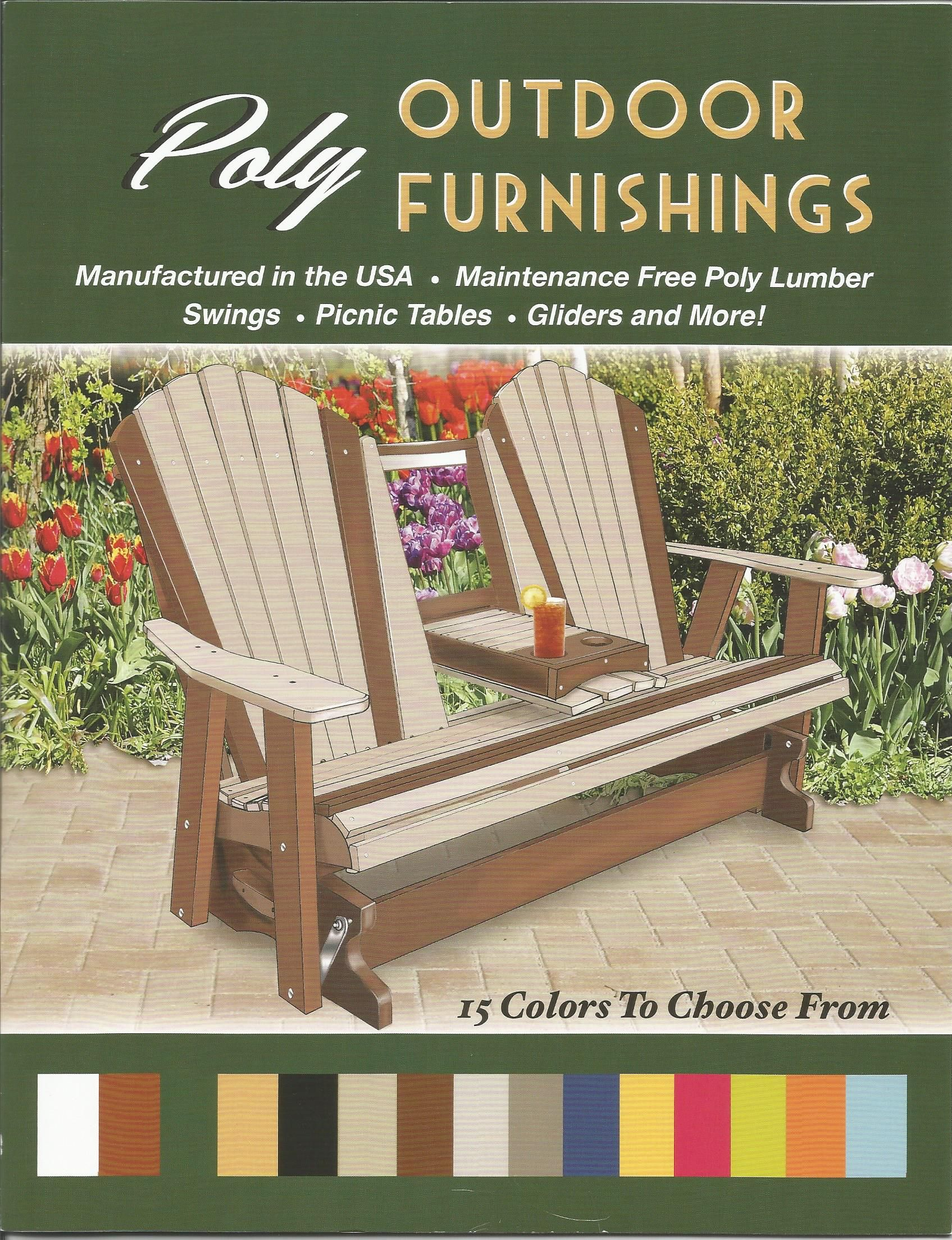 Amish Outdoor Furniture Plans