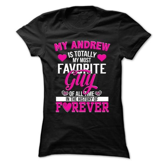 LIMITED EDITION - Andrew wife Hoodie/Tshirt - #easy gift #grandma gift. MORE ITEMS => https://www.sunfrog.com/Names/Andrew-Wife-TeeHoodie--Best-Edition.html?68278