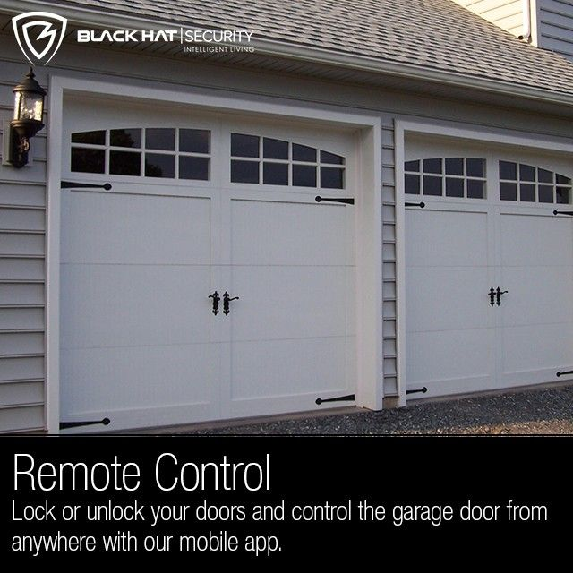 Remote Control Lock Or Unlock Your Doors And Control The Garage Door From  Anywhere With Our. Garage DoorsMobile AppSecurity ...
