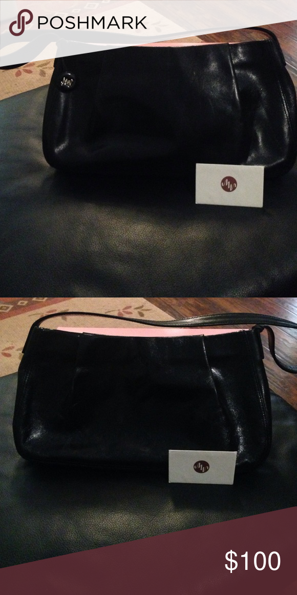 80e79c9e7a Monsac Original Genuine Leather Handbag Gorgeous Black Leather Original  Monsac Handbag// Looks brand new// No flaws// A Must Have// Super chic  giving any ...