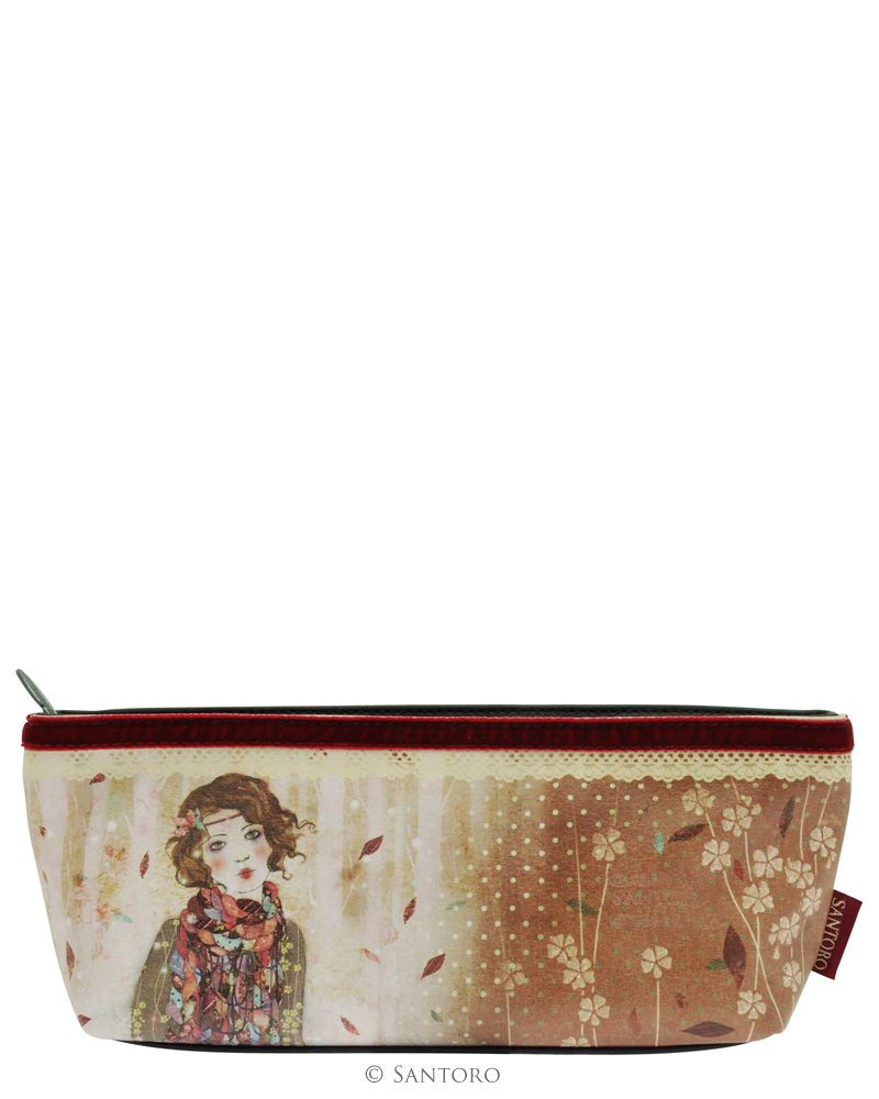 Accessory Case - Souvenir d'Hiver, Santoro's Willow #santoro #santorolondon #trousse #willow