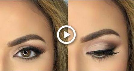 easy everyday smokey eye makeup tutorial lidschatten