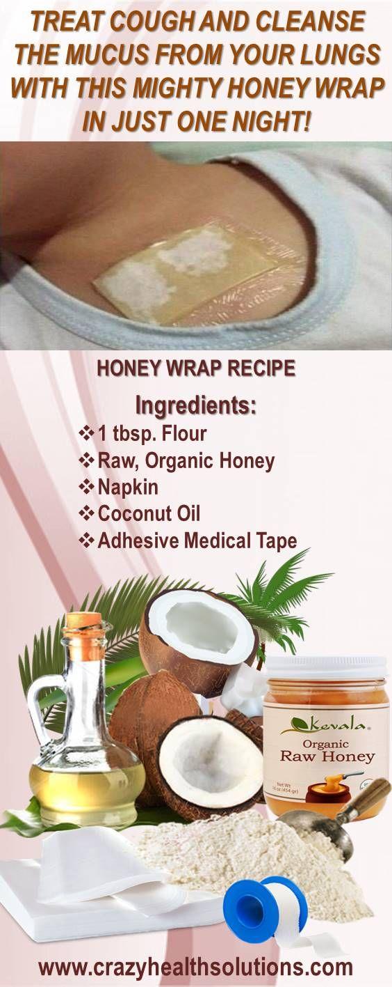 Honey wrap at home