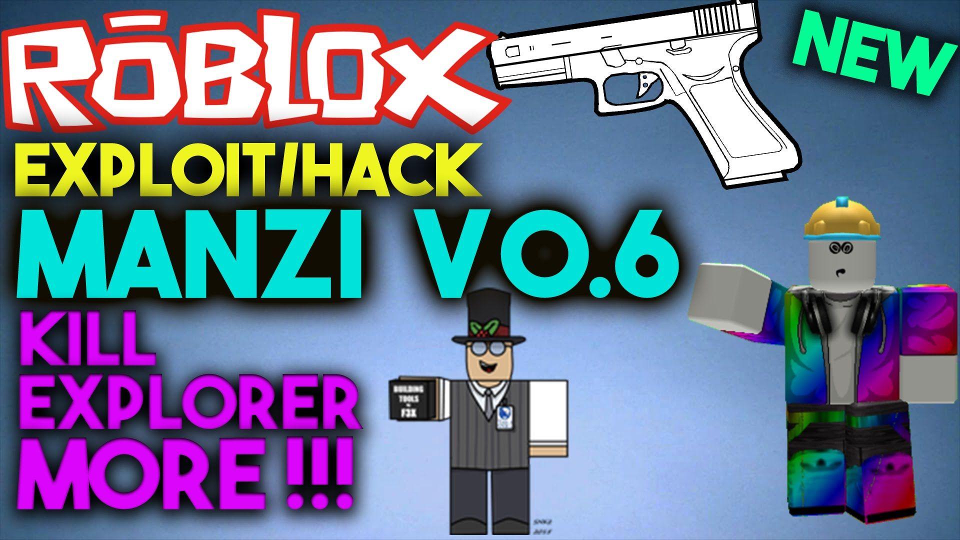 Roblox Exploit Roblox Exploits Nerf, Games, Guns