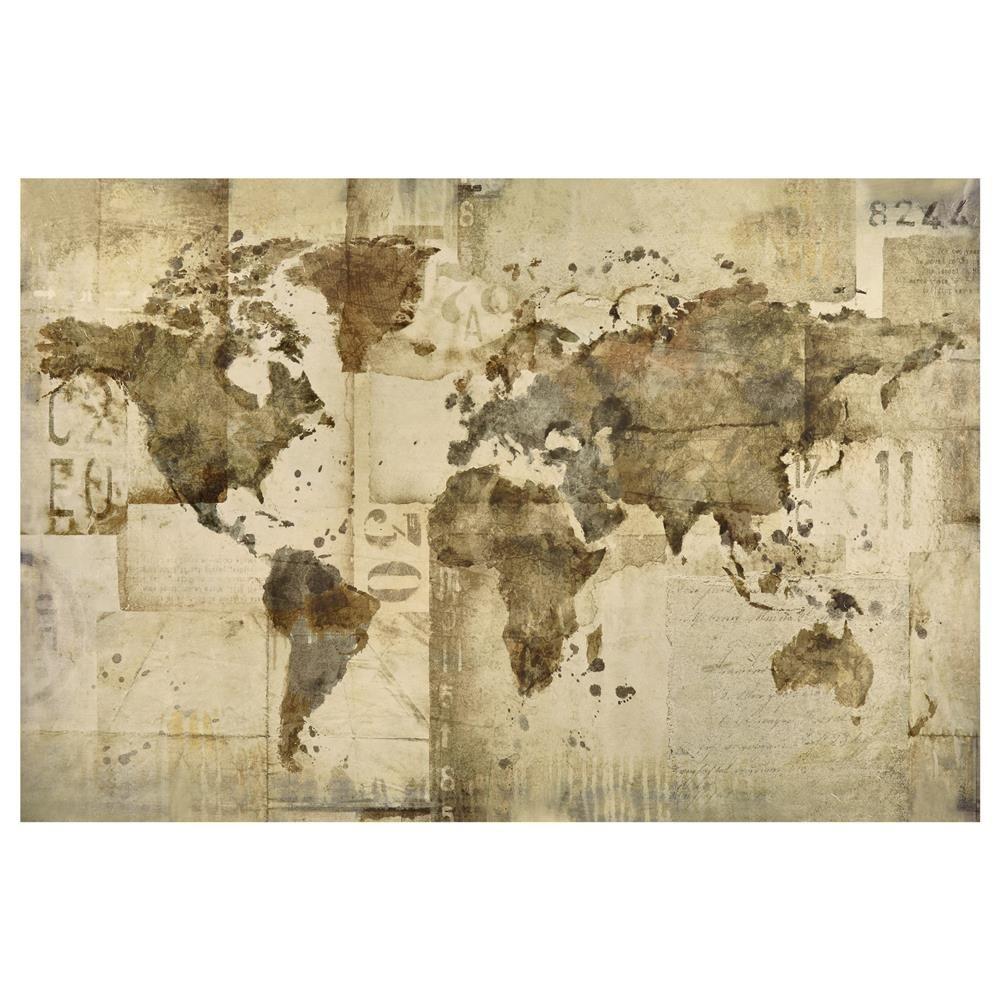 Canvas world mapcanvas framed artwall decorbouclair canvas world mapcanvas framed artwall decorbouclair gumiabroncs Choice Image
