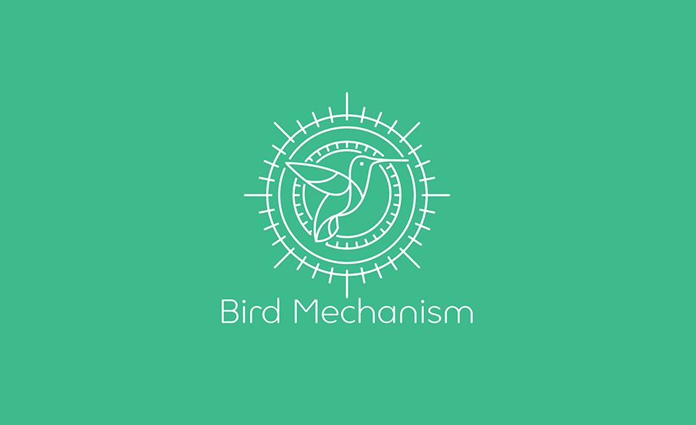 BirdM logo. Nick Vlow.