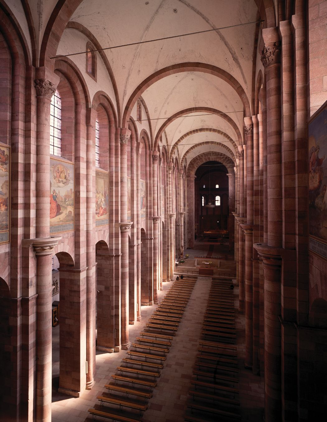 Speyer Cathedral Interior Поиск в Google Romanesque