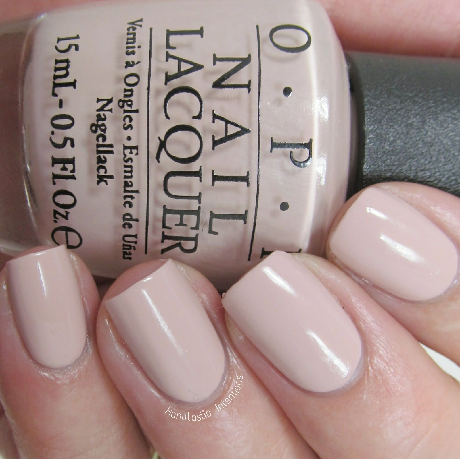Handtastic Intentions: OPI Venice Collection Tiramisu for Two ...