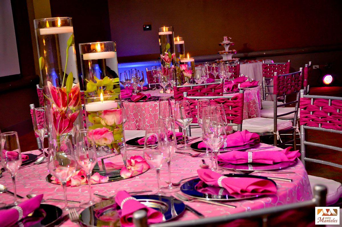 decoraciones para las mesas fiestas de quincea os