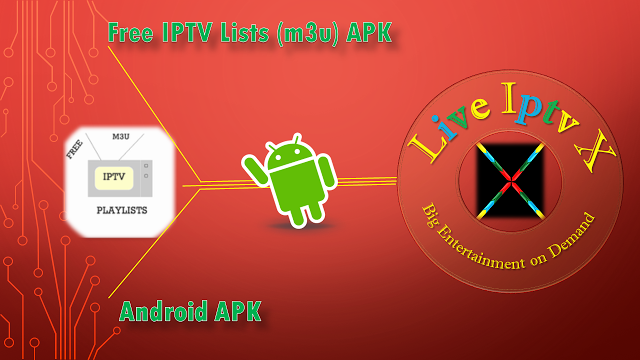 Free Premium Iptv For Android Lists (m3u) APK Free IPTV Lists (m3u