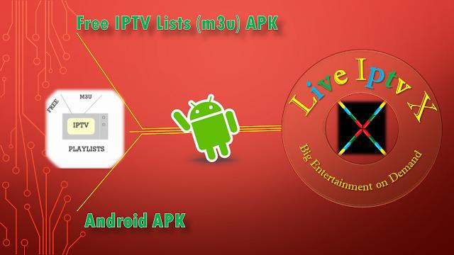 Free Premium Iptv For Android Lists (m3u) APK Free IPTV