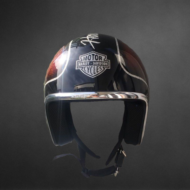 Harley Davidson Open Face Helmets With Root Beer Color Size M 3xl Open Face Helmets Helmet Harley Davidson