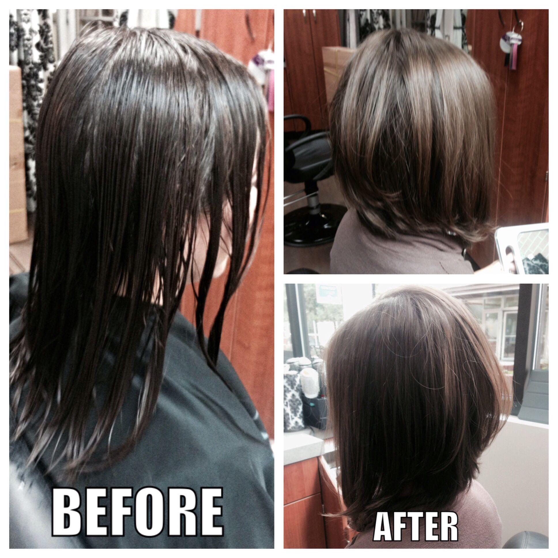 "Getting rid of ""mom hair"""