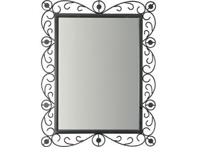 impressionnant miroir fer forg rectangulaire d coration fran aise pinterest miroir fer. Black Bedroom Furniture Sets. Home Design Ideas